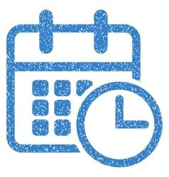 Timetable Grainy Texture Icon vector