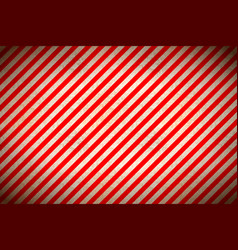 warning sign red and white stripes with grunge vector image