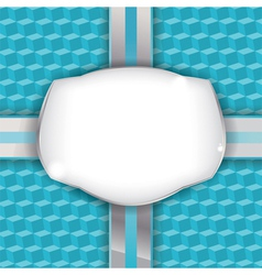 Wrapped present background vector