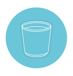 Coffee mug isolated icon vector