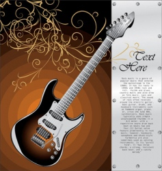 classic Stratocaster vector image