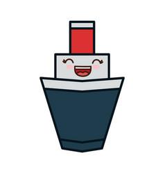 Ship icon image vector