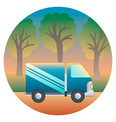 Truck Detailed vector image vector image