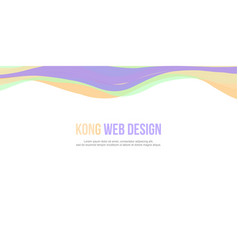Abstract background website header simple design vector