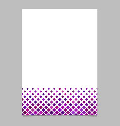 abstract square pattern page background template vector image