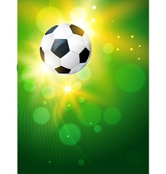 creative background of football vector image