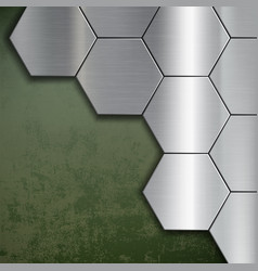 industrial steel background vector image