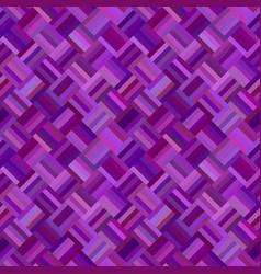 purple seamless diagonal rectangle pattern vector image