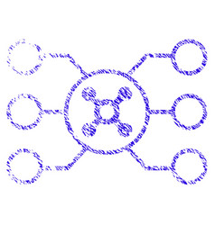 Roulette circuit icon grunge watermark vector