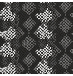 Snake skin artificial seamless texture vector image