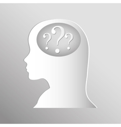 Question and solutions vector image vector image