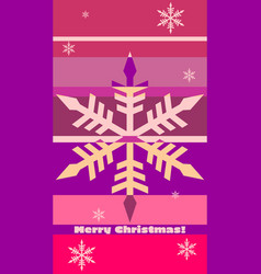 merry christmas celebration background vector image vector image