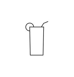 beverage icon vector image