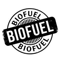 Biofuel rubber stamp vector