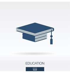 Education concept icon logo vector