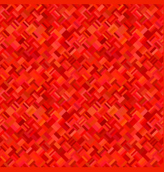 red geometric diagonal rectangle mosaic pattern vector image