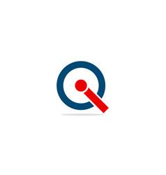Round i logo vector
