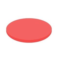 Salami slice vector image