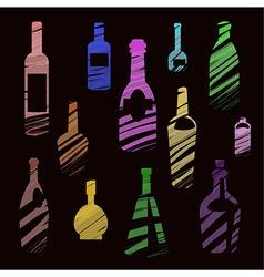 bottle vector image vector image