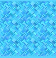 blue geometric diagonal rectangular mosaic tile vector image