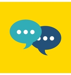 Bubble design Communication concept vector