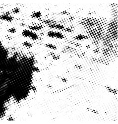 grunge halftone texture vector image