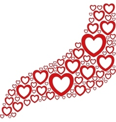 Heart love romantic passion icon graphic vector