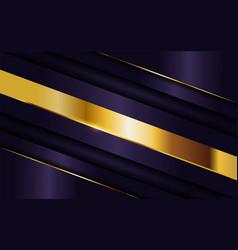 Luxurious dark purple background with golden vector