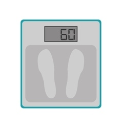 weighing scales icon vector image