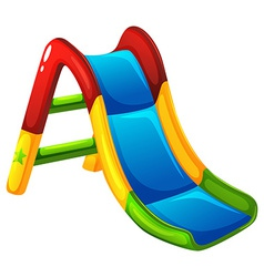 A colourful slide vector image