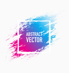 Abstract colour splash vector