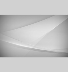 abstract white and grey modern futuristic vector image