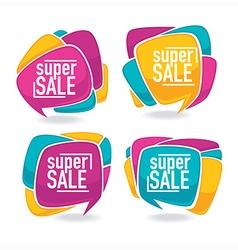 bright sale vector image