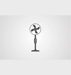 fan icon sign symbol vector image