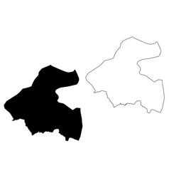 La paz department republic honduras vector