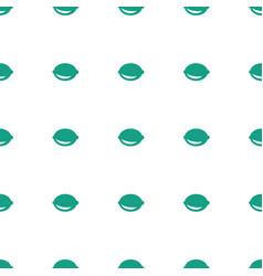 lemon icon pattern seamless white background vector image