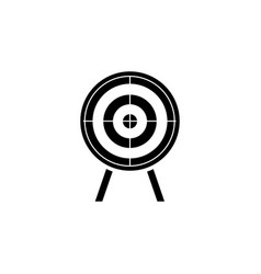 targets for shooting target icon vector image
