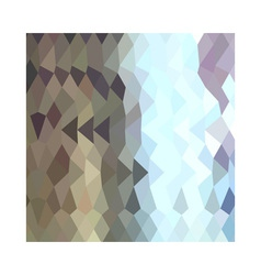 Taupe Abstract Low Polygon Background vector