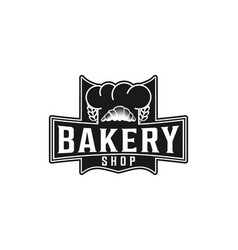 Vintage bakery shop logo inspiration isolated on vector