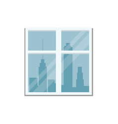 window city town view vector image