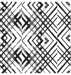 seamless rhombus pattern endless texture vector image vector image