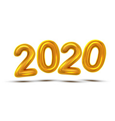2020 new year celebration banner vector image