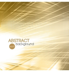 Abstract gold shiny template background vector