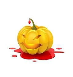 Angry Halloween vector image