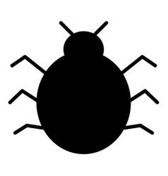 bug icon simple minimal 96x96 pictogram vector image