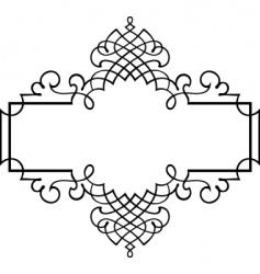 Elegance frame vector