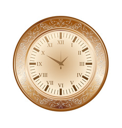 old brown watch vector image