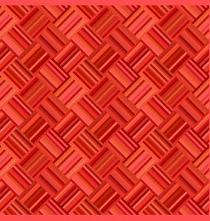 red abstract diagonal striped tile mosaic pattern vector image