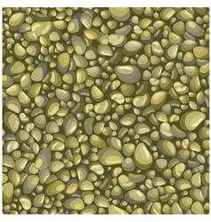 Seamless background with stones vector