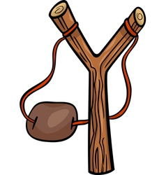 Slingshot clip art cartoon vector